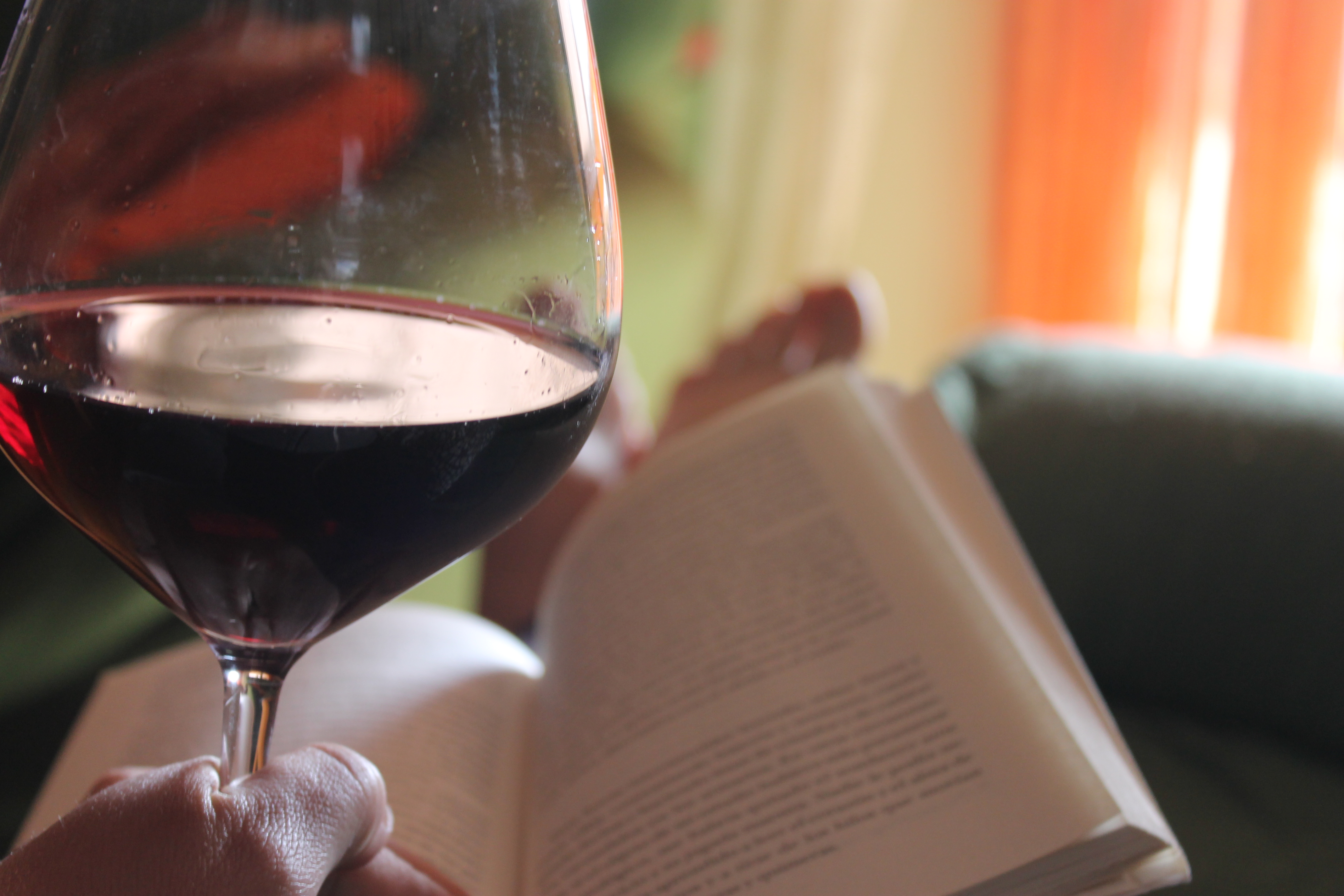 Resultado de imagen para vino y lectura
